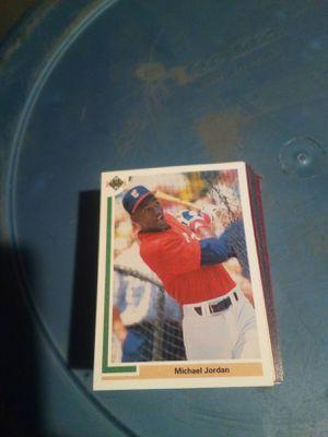 Michael Jordan baseball ball card for Sale in Ontario, CA