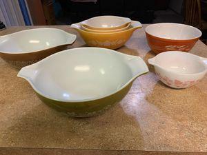 Pyrex vintage bowls for Sale in Bonney Lake, WA
