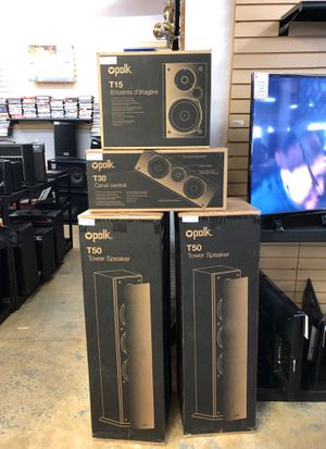 Polk audio speakers only for Sale in Raleigh, NC