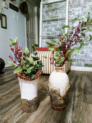 """16"""" Farmhouse Rustic Rope Vases (very heavy)! for Sale in Joliet, IL"""