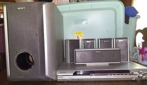 Sony DVD and home theater system for Sale in Mount Pleasant, PA