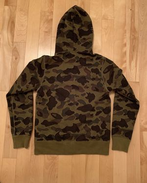 BAPE 1st Camo Full Zip Hoodie Green for Sale in Chicago, IL