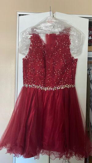 Formal dress (burgundy) size XL for Sale in Arbutus, MD