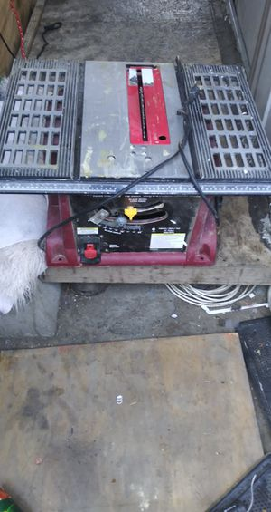 Chicago electric table saw for Sale in San Francisco, CA