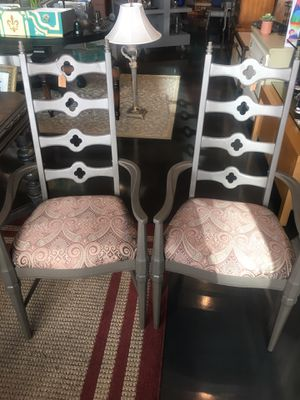 2 Matching wood chairs for Sale in Tampa, FL