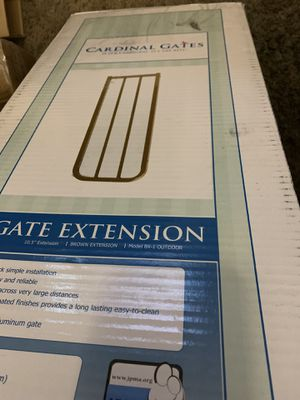 Cardinal gates extension 10.5 brown for Sale in Greenville, SC
