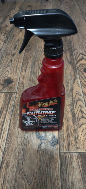 Meguiar's Hot Rims Chrome Wheel Cleaner, 24 FL OZ for Sale in Mill Creek, WA