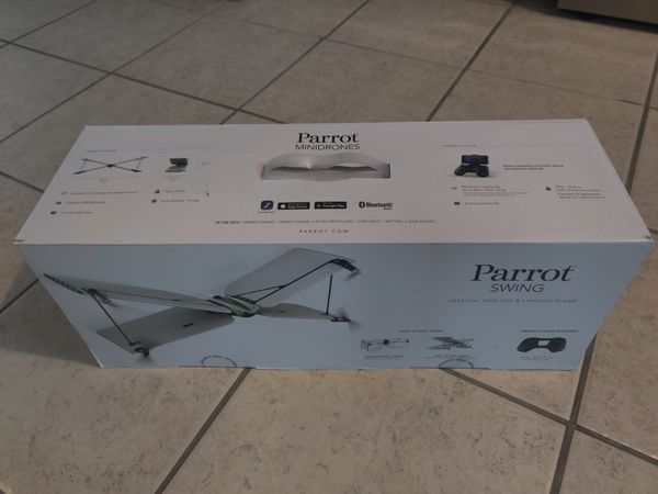 Parrot Swing Drone Quadcopter Plane