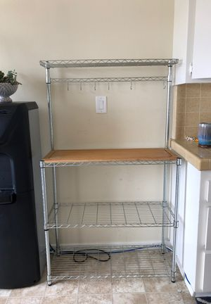 Kitchen cart / shelf with cutting board for Sale in Hermosa Beach, CA