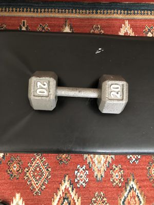 20 lbs dumbbell for Sale in Newport News, VA