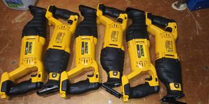 DEWALT 20-Volt MAX Lithium-Ion Cordless Reciprocating Saw (Tool-Only) $85 Each for Sale in Atlanta, GA
