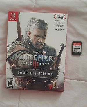 The Witcher nintendo switch for Sale in Bellflower, CA