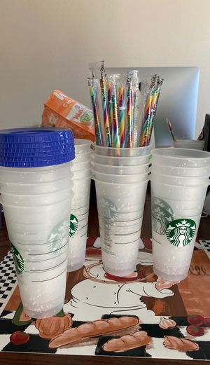 Confetti color changing cups for Sale in Peoria, AZ