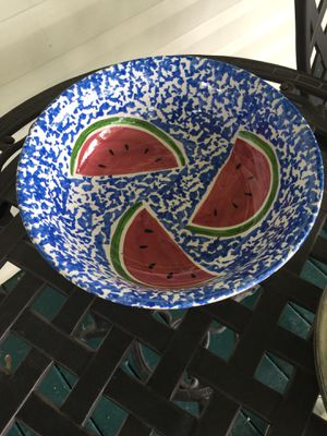 Water Melon or Vegetable Bowl for Sale in Hometown, WV