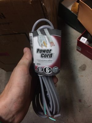 6ft Power cords for Sale in Sanger, CA