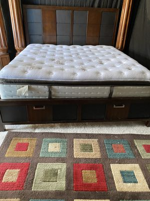 KING BED ⭐️⭐️⭐️⭐️⭐️⭐️ for Sale in Morrisville, NC