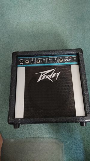 Peavey solo guitar amp for Sale in Gresham, OR