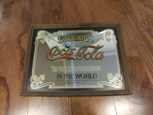 Vintage Antique Coca Cola Coke Decor Mirror Art for Sale in Tukwila, WA
