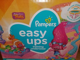 Pampers easy Ups size 5 62 Ct for Sale in Palos Hills,  IL