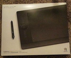 Wacom intuos pro large black tablet for Sale in Apex, NC