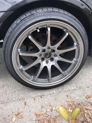 4 Lug Universal 18x9.5 Rims for Sale in Pensacola, FL
