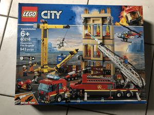 LEGO city 60216 Downtown fire brigade brand new sealed! for Sale in Tarpon Springs, FL