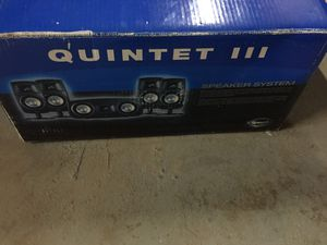 Quintet III speaker system for Sale in Gaithersburg, MD