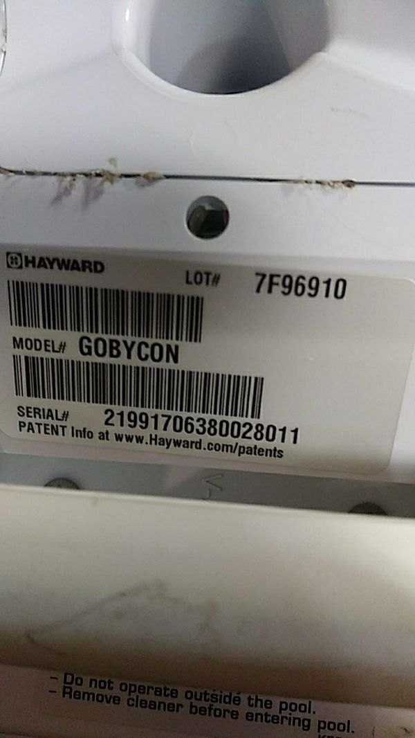 Hayward gobycon pool vac