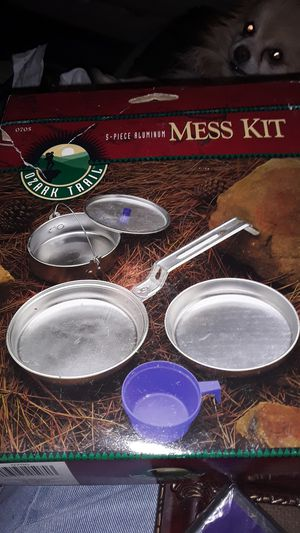 Camping tent and cooking pans for Sale in Rialto, CA