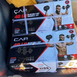 40lbs Adjustable Dumbbells for Sale in Chico, CA