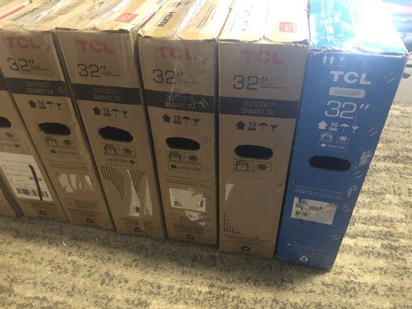 "32"" TCL Roku 1080p HD Smart TVs"