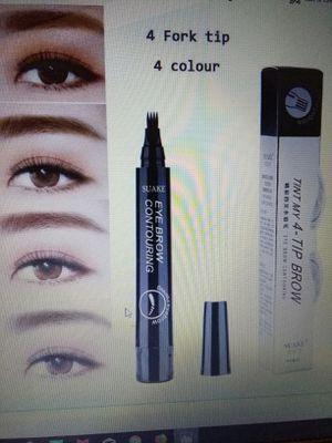 4 Micro Fork Tip Liquid Eyebrow Pen Grey Color for Sale in BRECKNRDG HLS, MO