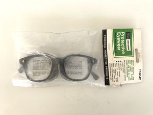 NEW Vintage 60s 70s American Optical AO Safety Glasses Transparent Clear Gray for Sale in Santa Ana, CA