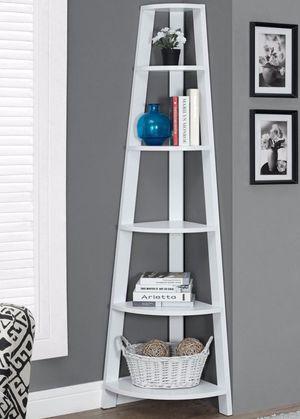 "New!! Bookcase, bookshelves, organizer, storage unit , shelving display, living room furniture, white,m72""H for Sale in Phoenix, AZ"