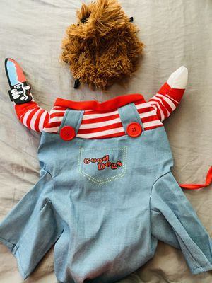 Chucky dog costumes size large for Sale in Montebello, CA