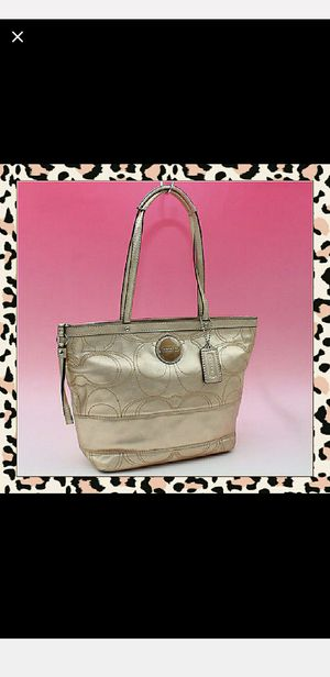 Coach Signature Stitch Tote Bag F18877 for Sale in Portland, OR