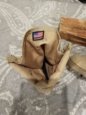 Military ALTMAN boots. No laces. for Sale in Middleburg, FL