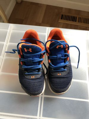 Boys under armour shoes size 13 for Sale in Campbell, CA
