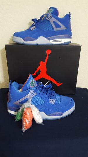Jordan retro 4 FL GATOR edition size 9 for Sale in Waverly, FL