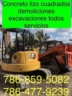 Excavadora Bobcat Mini Excavator And Volteo.)✅(((.demolición Servi,críos.)))✅✅✅.!!!... for Sale in Miami,  FL