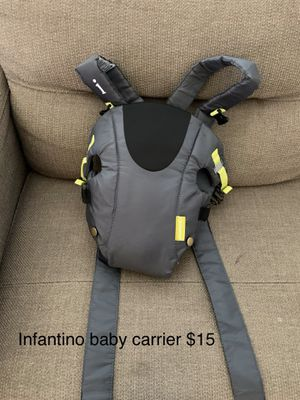 Infantino baby carrier for Sale in Langley Air Force Base, VA