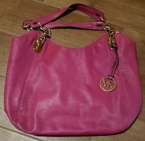 Bright Pink Michael Kors Hobo Bag for Sale in Niederwald, TX