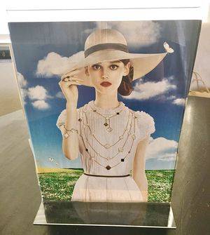 """Acrylic Sign Holder Stand 8.5x11"""" for Sale in Miramar, FL"""