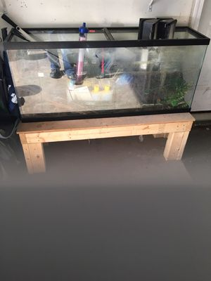55gal Fish Tank & Filter for Sale in Norton, MA