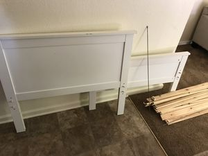 Twin size bed frame from ikea for Sale in Chico, CA