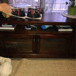 Real Wood Antique Large TV Stand for Sale in Los Angeles,  CA