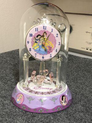 Disney princess pendulum clock for Sale in Albuquerque, NM
