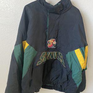 1994 NBA Seattle Sonics Starter Jacket for Sale in Apple Valley, CA