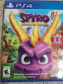 PS4 Spyro Reignited Trilogy Game for Sale in Paramount,  CA