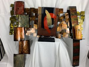 4 Piece Iron Wall Display abs Table Top Centerpiece for Sale in Washington, DC